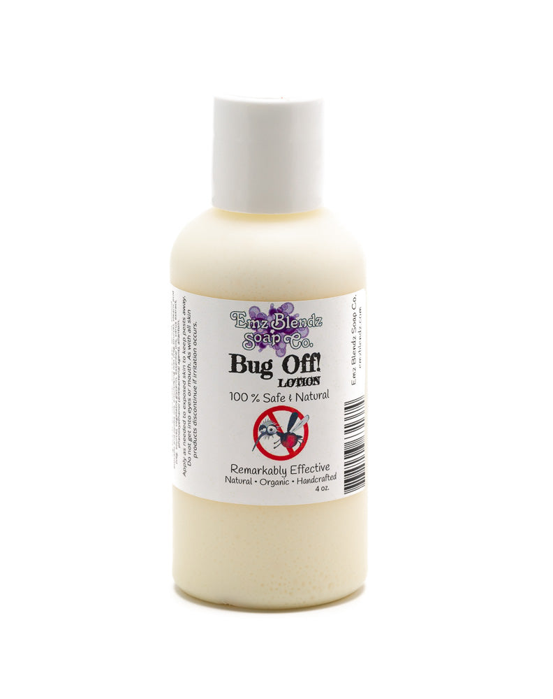 Emz Blendz All Natural Bug OFF Lotion Insect Repellent and protection - Emz Blendz