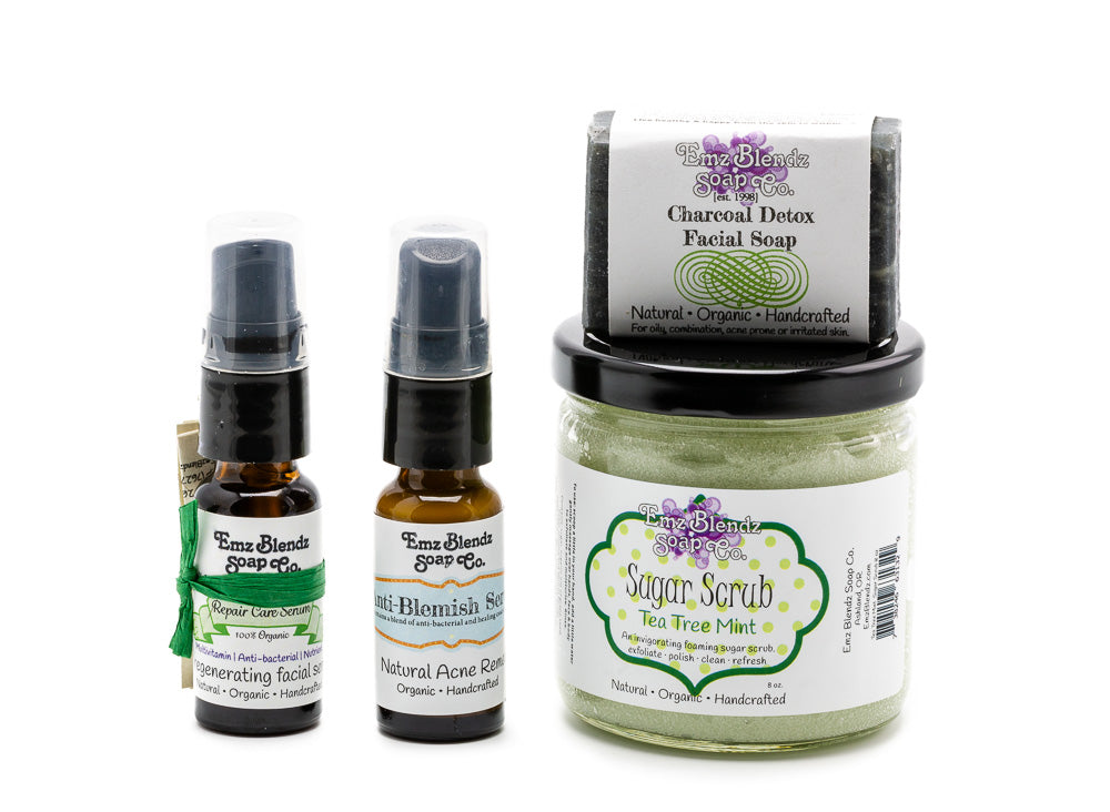 Detox Facial | Blemish Repair Care Kit - Emz Blendz
