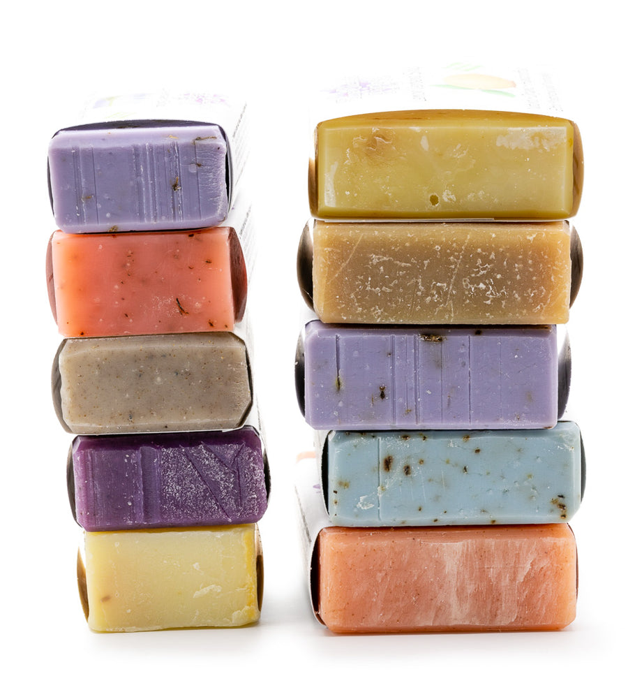 Extra Large 5 oz Natural Soap Bar Value Pack - Emz Blendz