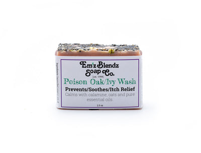 Poison Oak / Ivy Wash | Prevent, Soothe, Itch Relief