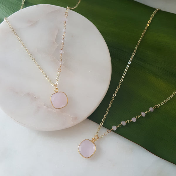 Love is in the details - rose quartz -
