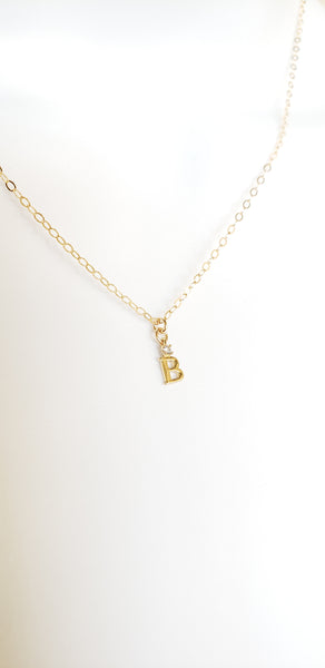 Dainty Initial Necklace - limited edition