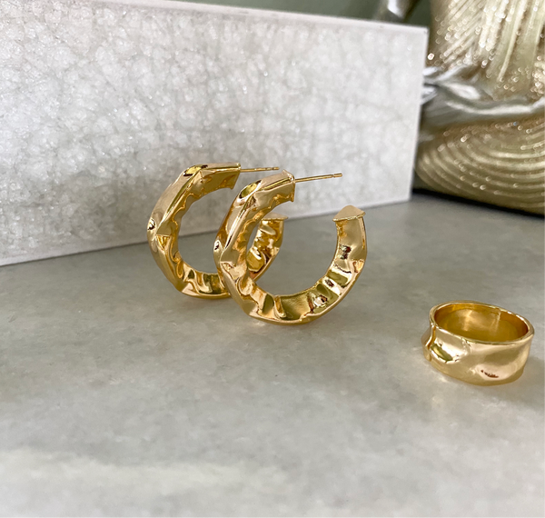 Nimia II Hoop Earrings