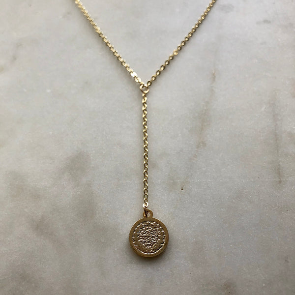 BEXO Coin Y Necklace