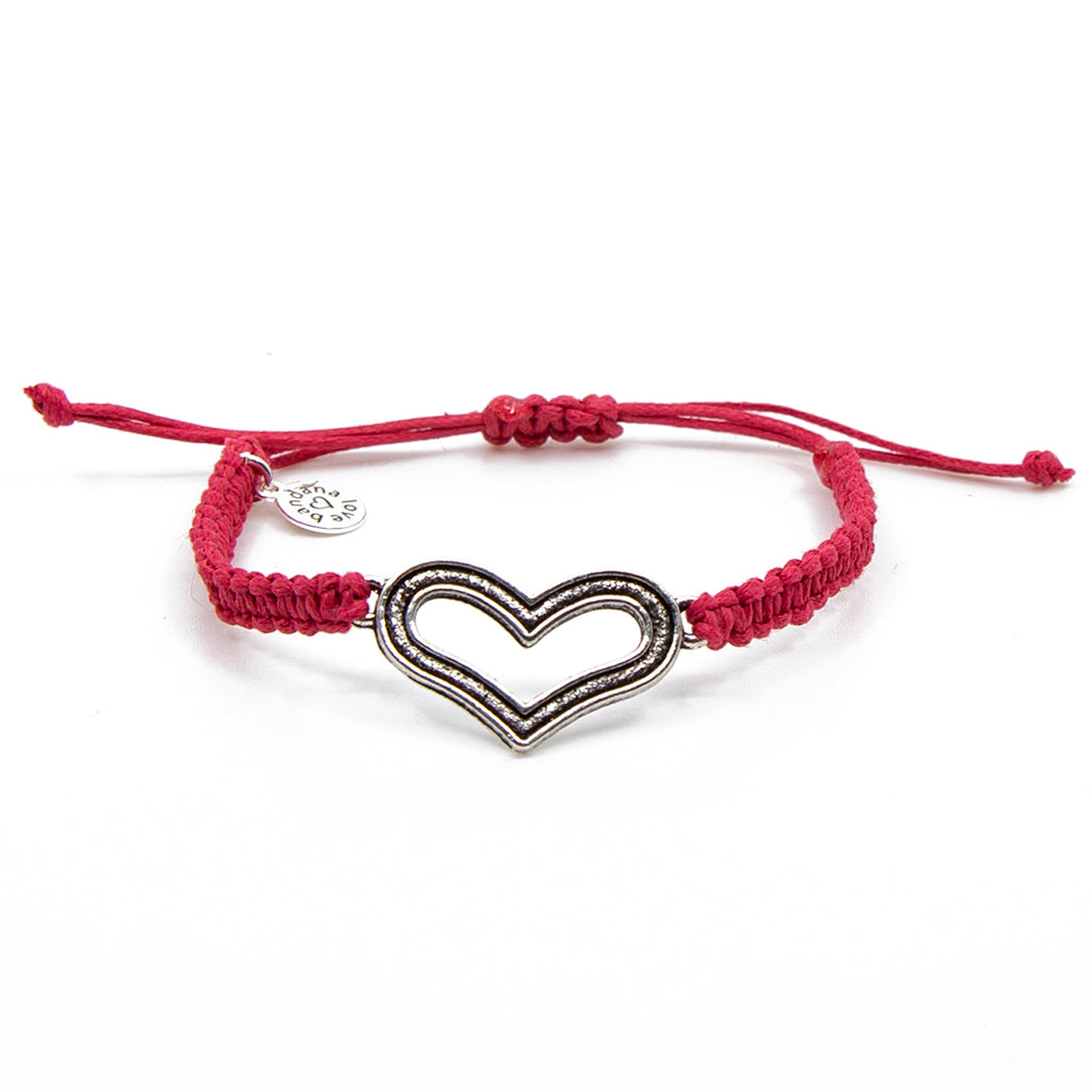 Big Heart String In 4 Colors