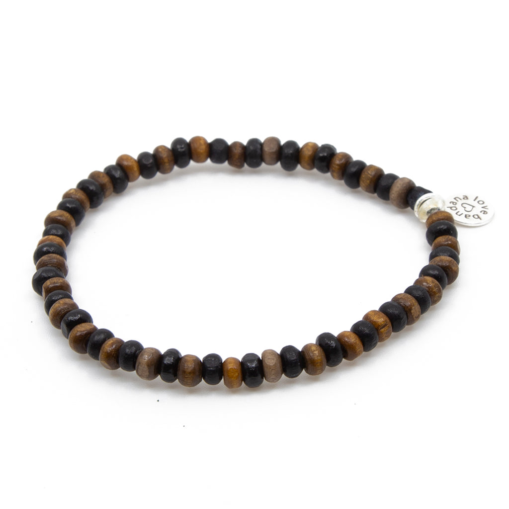 Brown and Black Candi Beads