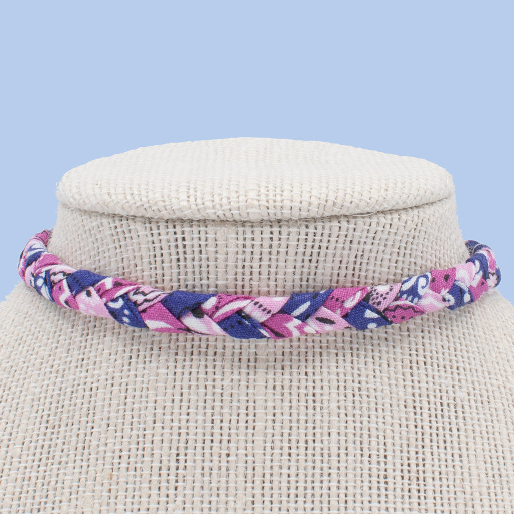 Cotton Candy Choker