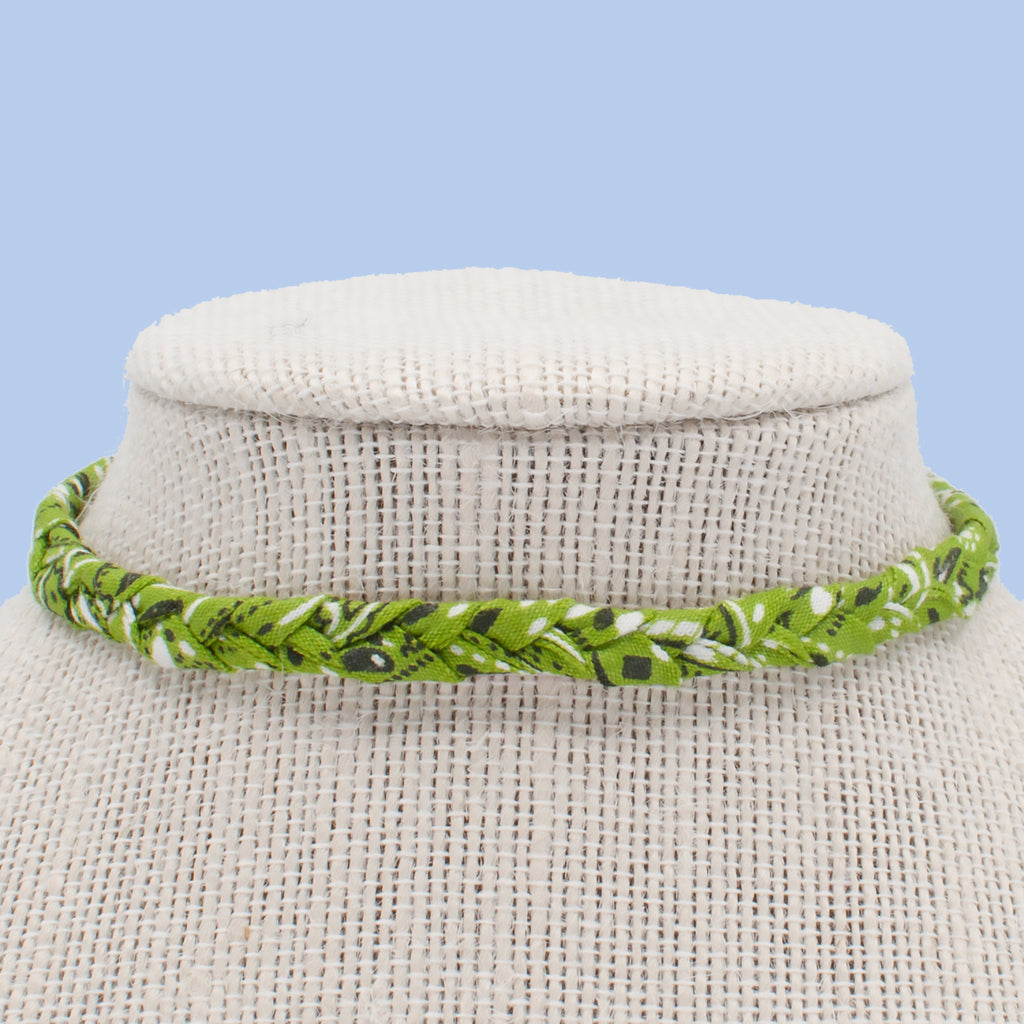 Lime Green Choker