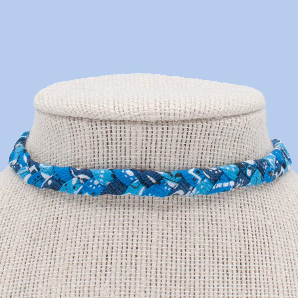 Ocean Blues Choker