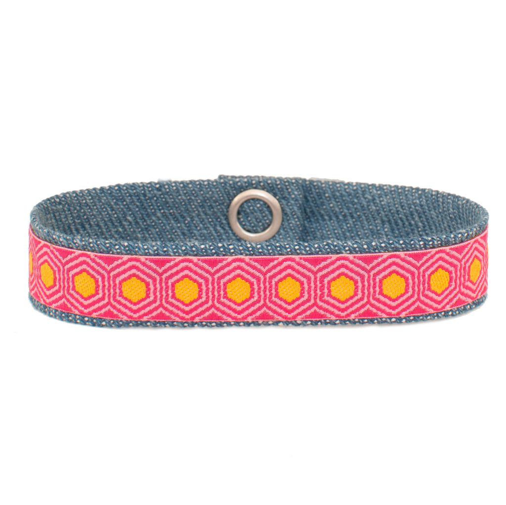 Pink Hex Band