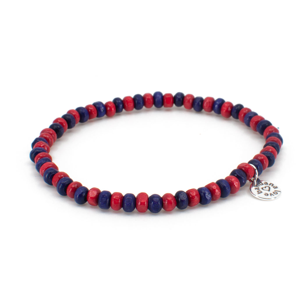 Purple and Red Candi Beads