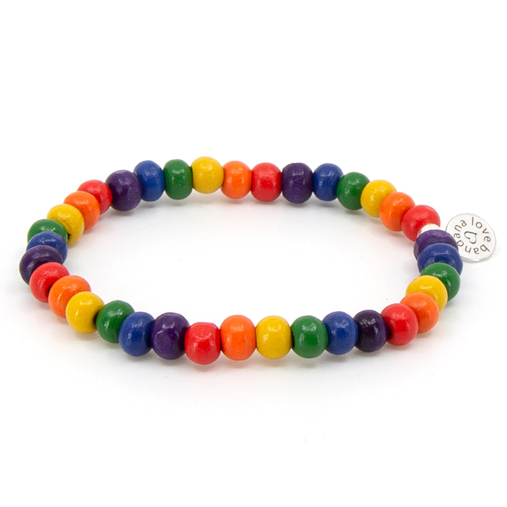 Rainbow Candi Bead Dots