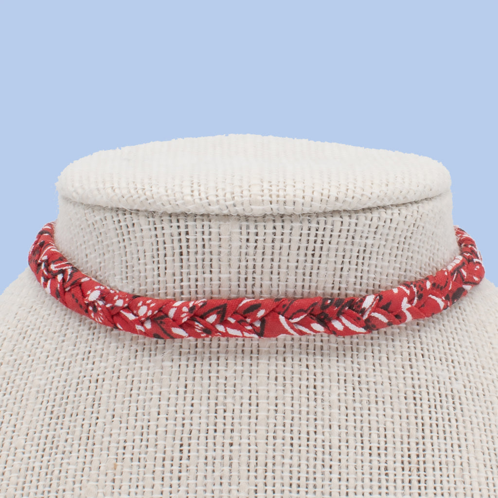 Red Bandana Choker