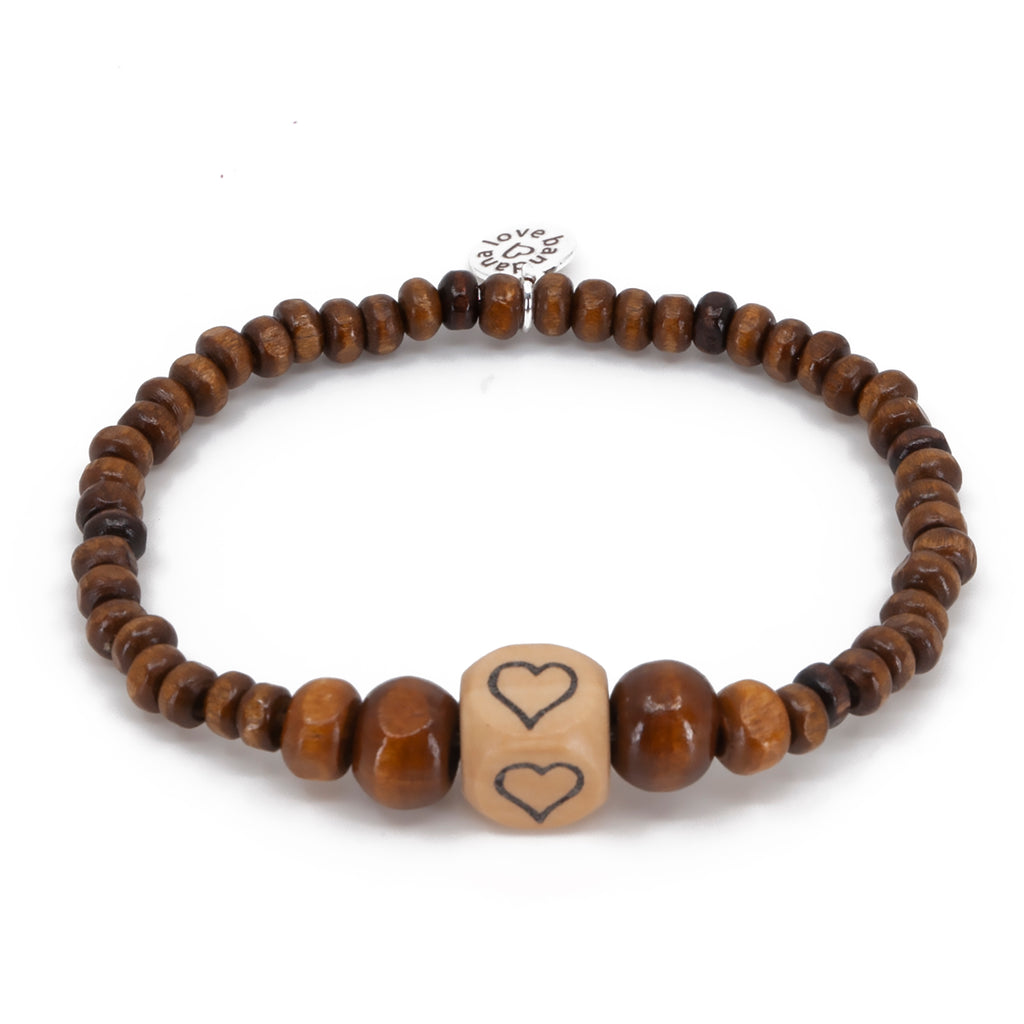 Spread Heart Candi Beads