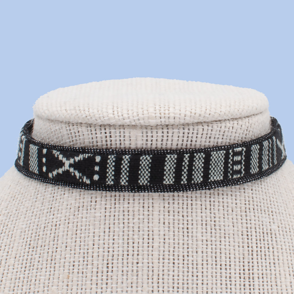 Tribal Black Choker