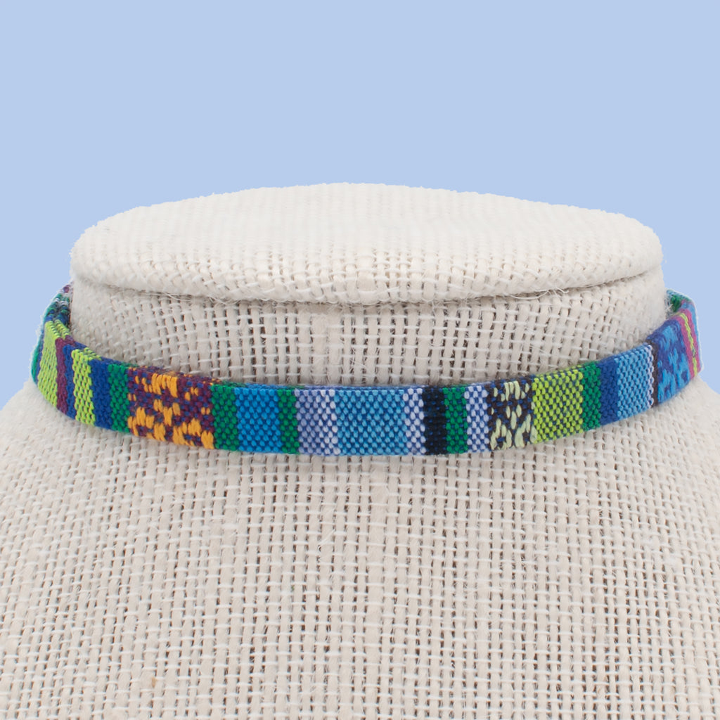 Tribal Blue Choker
