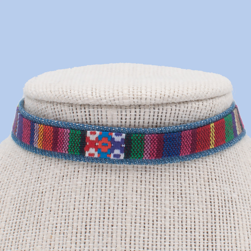 Tribal Multicolor Choker