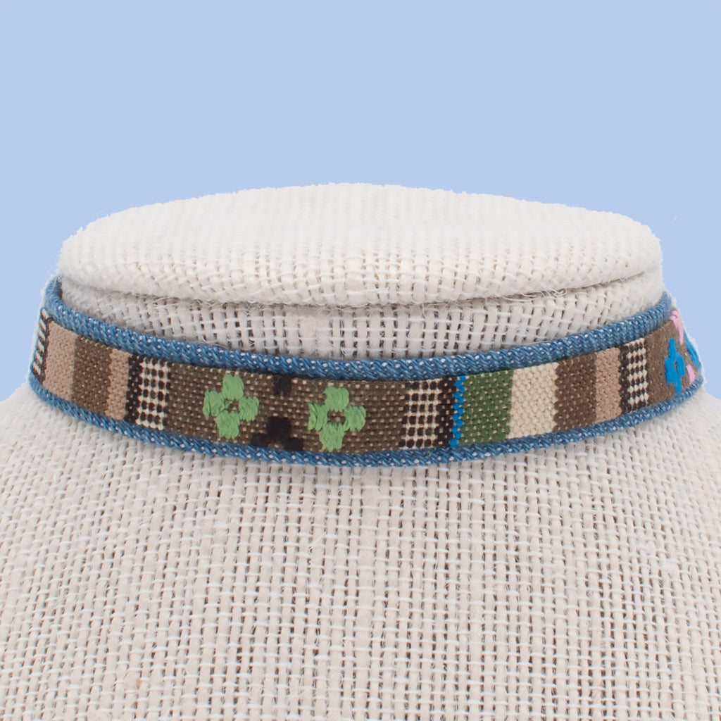 Tribal Tan Choker