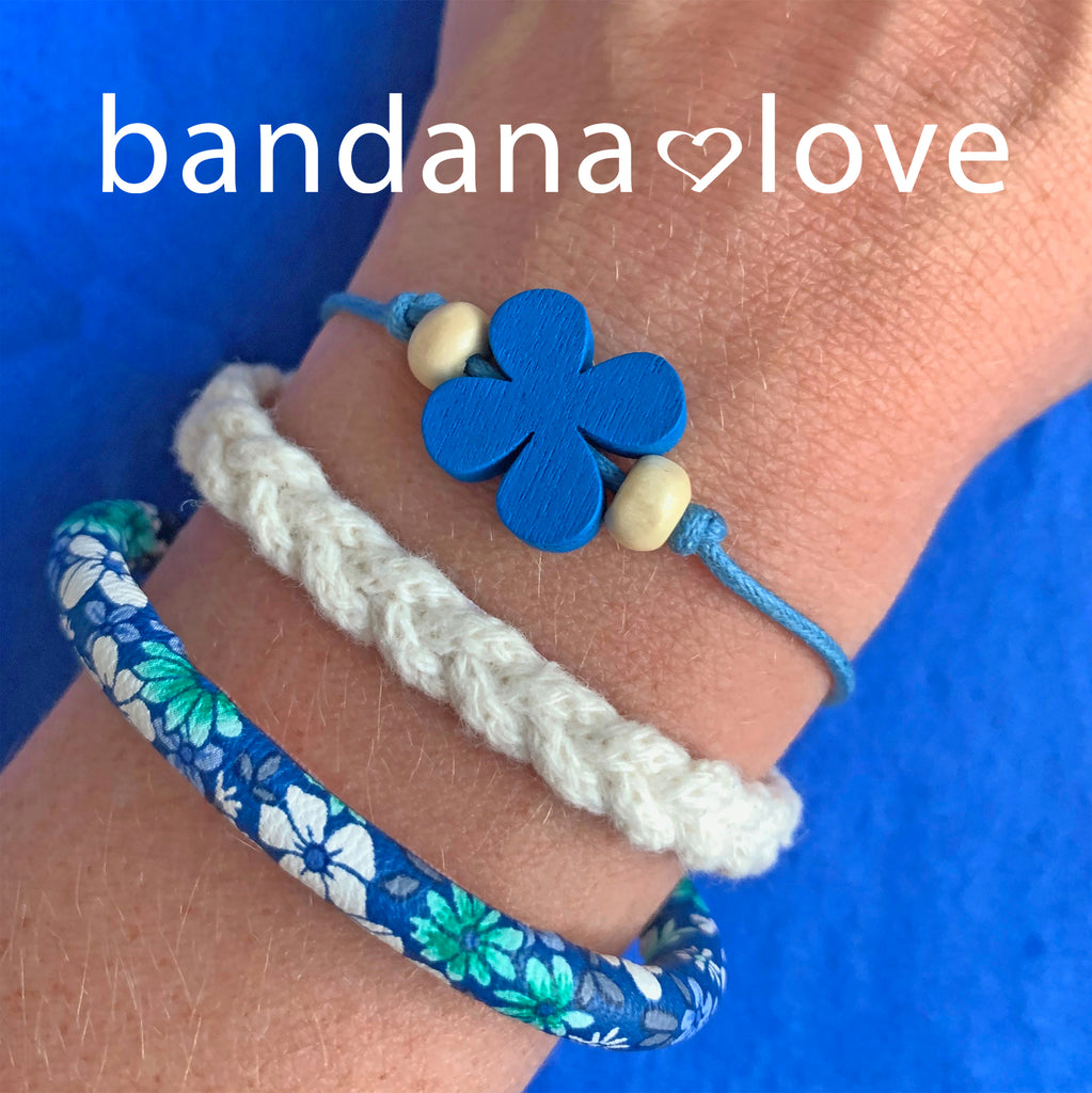 Blue Flower String in 5 Colors