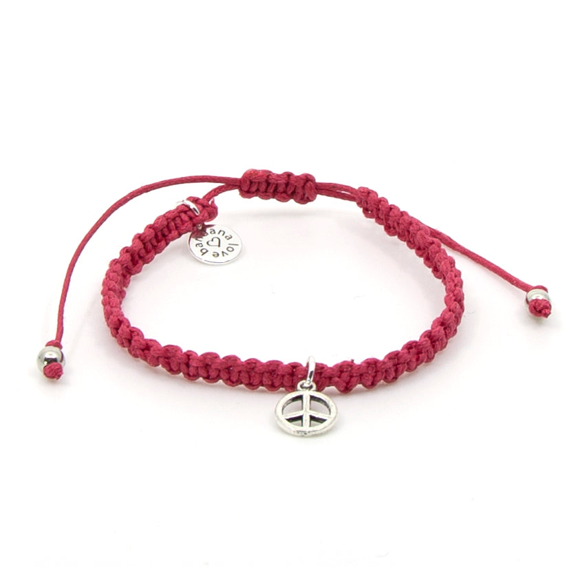 Peace String in 9 Colors