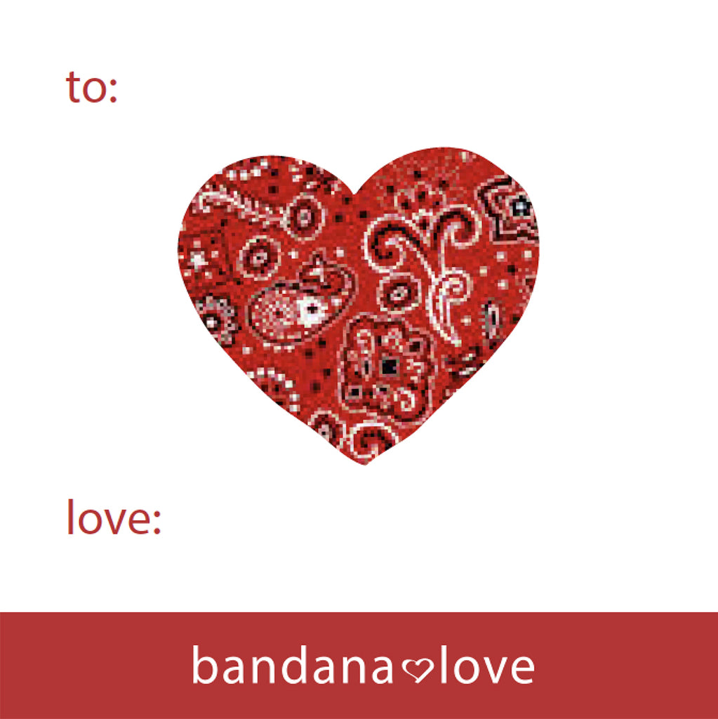 Bandana Love Gift Card