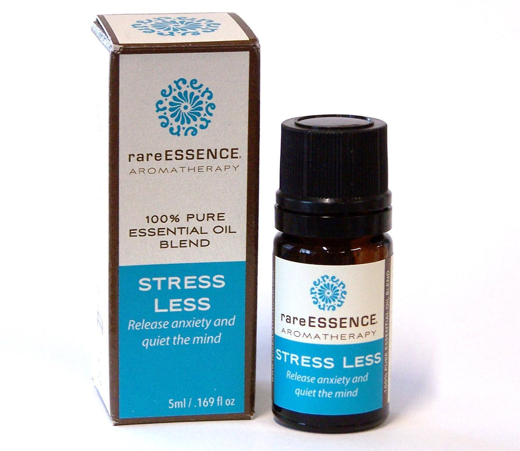 Stress Less essential oil blend. Release anxiety and quiet the mind.