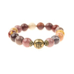 Lenny and Eva Beaded Bracelet in Plum Rose