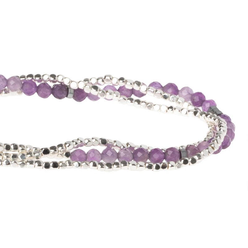Delicate Stone Wrap - Amethyst - Stone of Protection