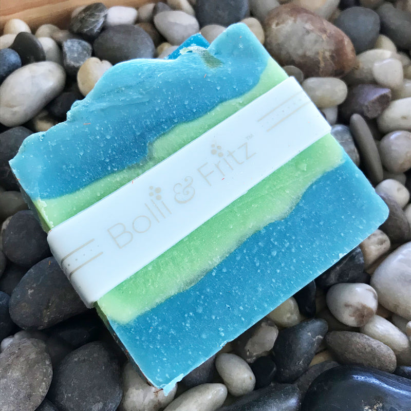 Handmade Coconut Lime Bar of Soap by Bolli & Fritz