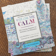 Color Me Calm Coloring Book