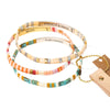 GOOD AS GOLD - Blush & Gold - Good Karma Miyuki Bracelet