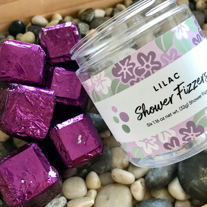 Lilac Scented Shower Fizzers by Bolli & Fritz