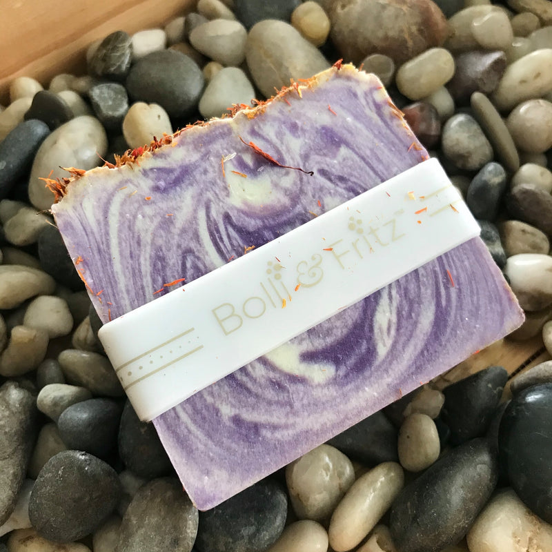 Handmade Lilac Bar of Soap by Bolli & Fritz