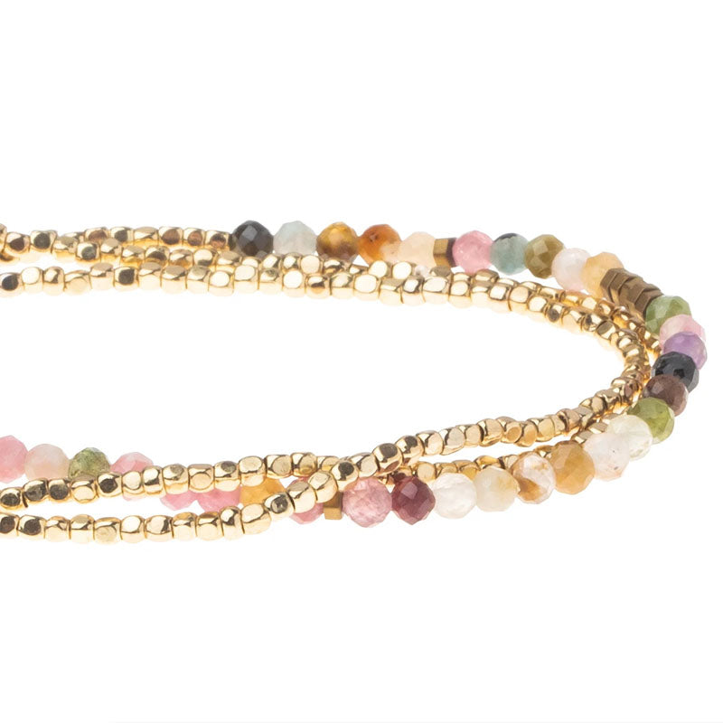 Delicate Stone Wrap - Tourmaline - Stone of Healing