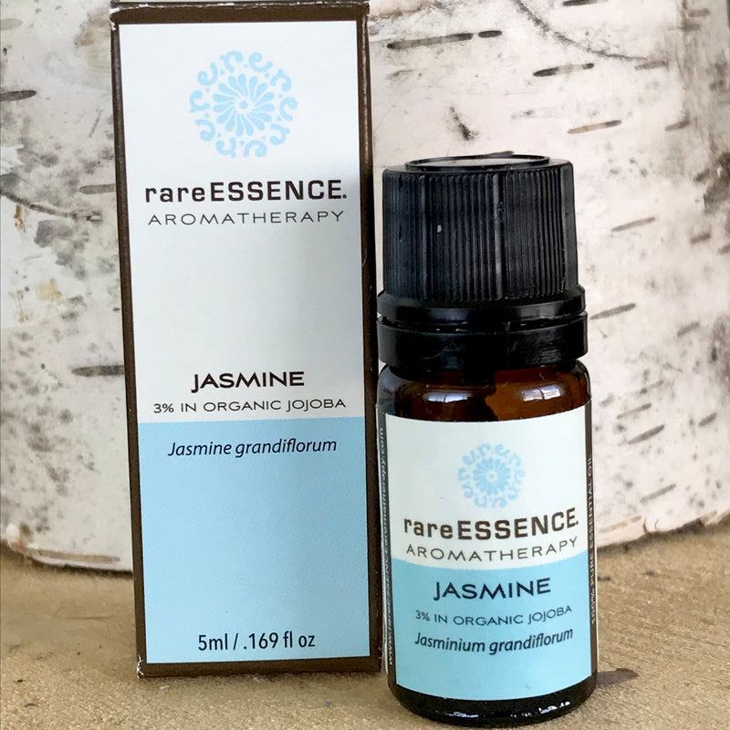 Bottle of Jasmine essential oil by Rare Essence