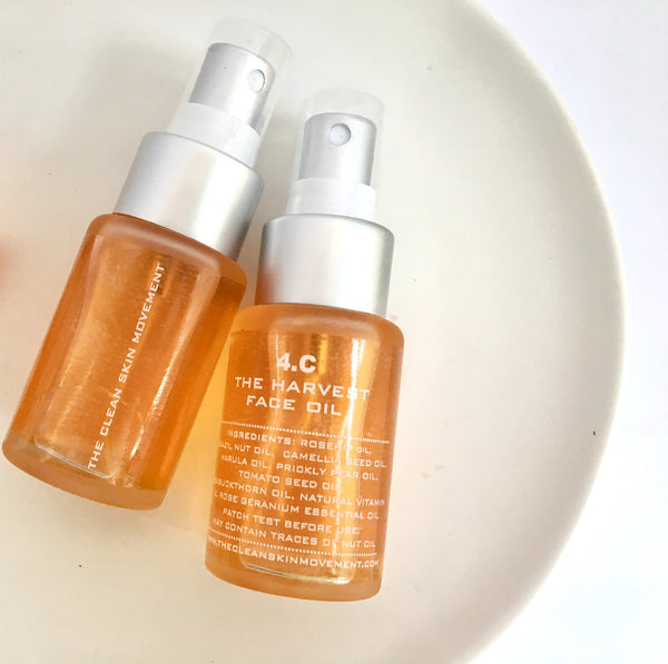 4.C THE HARVEST FACE OIL (Balanced + Dry Skin)