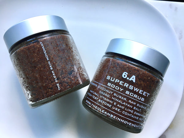 6.A SUPERSWEET BODY SCRUB