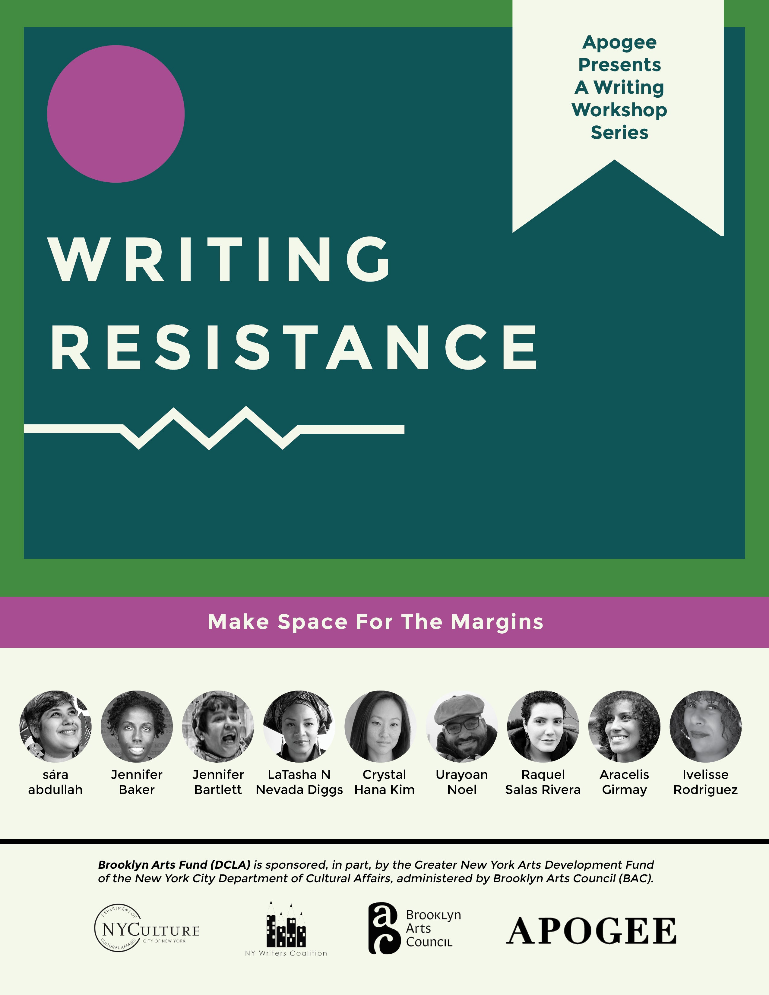 Writing Resistance 3.0