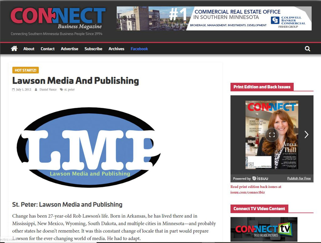 LMP, Mankato SEO and Media Company Featured in MN Business Magazine