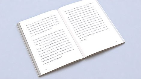 500 Pocketbook or Digest Size Book Printing with Cream Pages and Gloss Cover 250 pages