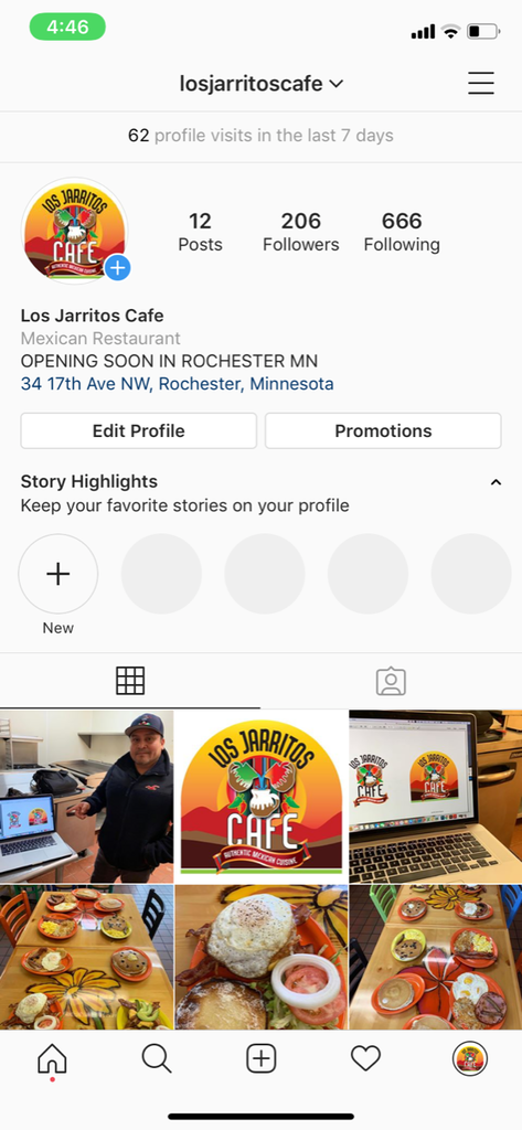 Instagram Page For Your Business