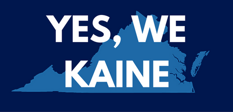 Yes We Kaine! Bumper Sticker