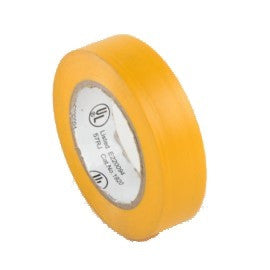 "YELLOW-3/4""X 50' UL ELECTRICAL TAPE (10 PACK) (75000-Y)"