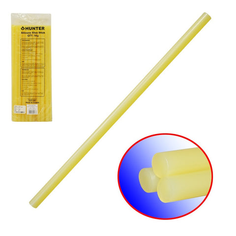 "YELLOW 0.45"" (11.3MM) SILICONE GLUE STICK (AD-1025)"