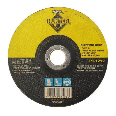"METAL CUTTING DISC 4""X1.2MMX22MM (PT-1212)"