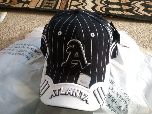 Atlanta Striped Snap back Baseball Cap