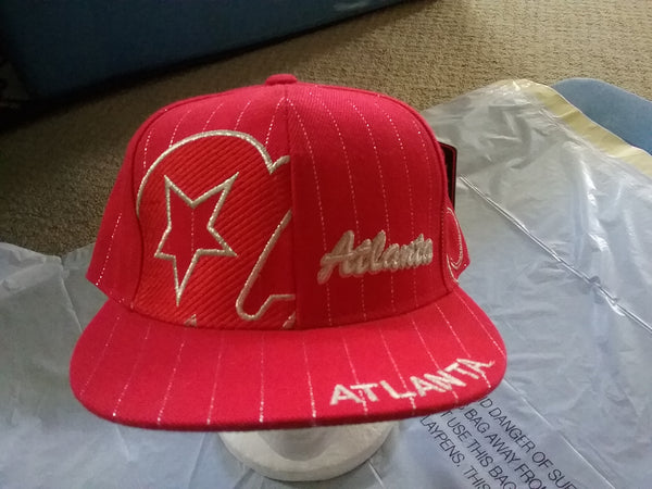 Atlanta Fitted Baseball Cap