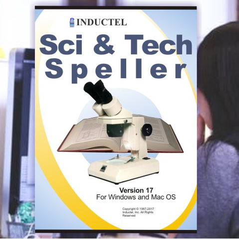 Inductel Scientific and Technical Speller