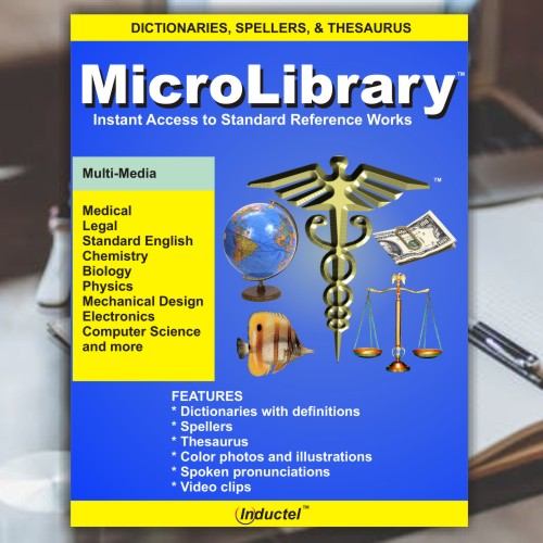 Inductel MicroLibrary Combo Deal Download, Version 17, Plus Combo Speller