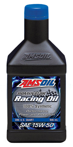 15W-50 Dominator Racing Synthetic Motor Oil